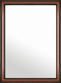 特大 大型 ラージサイズ の 鏡 ミラー 壁掛け鏡 壁掛けミラー ウオールミラー:スパニッシュナチュラル 8022 ブラウン 714mmx964mm(フレームミラー 壁掛け 壁付け 姿見 姿見鏡 壁 おしゃれ エレガント 化粧鏡 アンティーク 玄関 玄関鏡 洗面所 トイレ 寝室 )