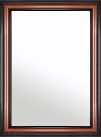 特大 大型 ラージサイズ の 鏡 ミラー 壁掛け鏡 壁掛けミラー ウオールミラー:スパニッシュナチュラル 8021 ブラウン 738mmx988mm(フレームミラー 壁掛け 壁付け 姿見 姿見鏡 壁 おしゃれ エレガント 化粧鏡 アンティーク 玄関 玄関鏡 洗面所 トイレ 寝室 )