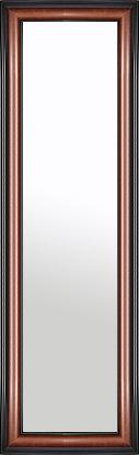 鏡 ミラー 壁掛け鏡 壁掛けミラー ウオールミラー:スパニッシュナチュラル 8021 ブラウン 388mmx1288mm(フレームミラー 壁掛け 壁付け 姿見 姿見鏡 壁 おしゃれ エレガント 化粧鏡 アンティーク 玄関 玄関鏡 洗面所 トイレ 寝室 額 フレーム 額縁 )