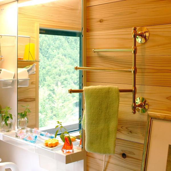 タオルハンガー タオルかけ タオル掛け アイアン 真鍮 アンティーク 洗面所 トイレ おしゃれ キッチン:g-6g4008k7