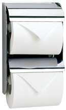 2連 ダブル ペーパーホルダー トイレ トイレットペーパーホルダー アンティーク トイレペーパーホルダー ペーパーホルダーカバー ロールペーパーホルダー:K-203-012d