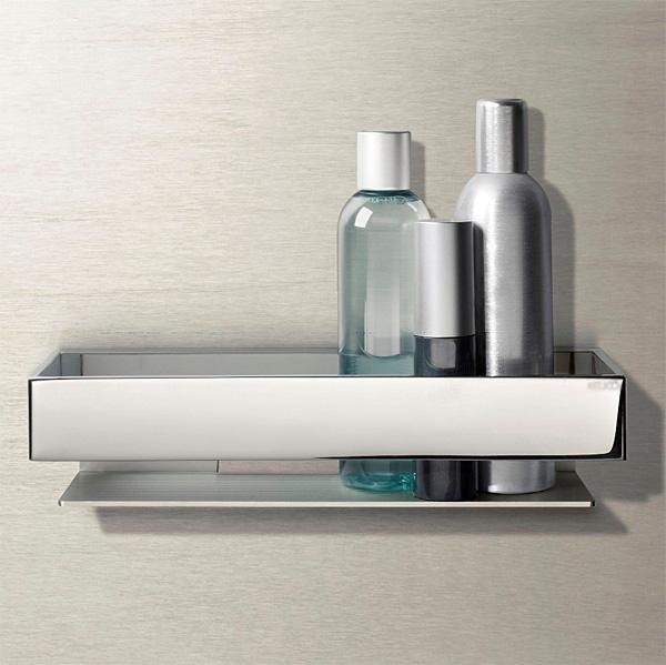 浴室でも使えるシェルフ メタルシェルフ シェルフ 洗面 洗面所 浴室 バスルーム バス ラック 棚板 壁掛け 棚 収納 壁面収納 デザイン トイレ 洗面の棚 化粧棚 サニタリーシェルフ:CE-KcC1115r8R