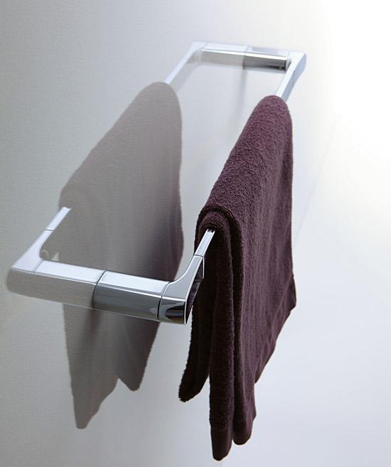 タオルハンガー タオルかけ タオル掛け スチール アイアン 洗面所 おしゃれ モダン キッチン トイレ:CE-GcE45076r0