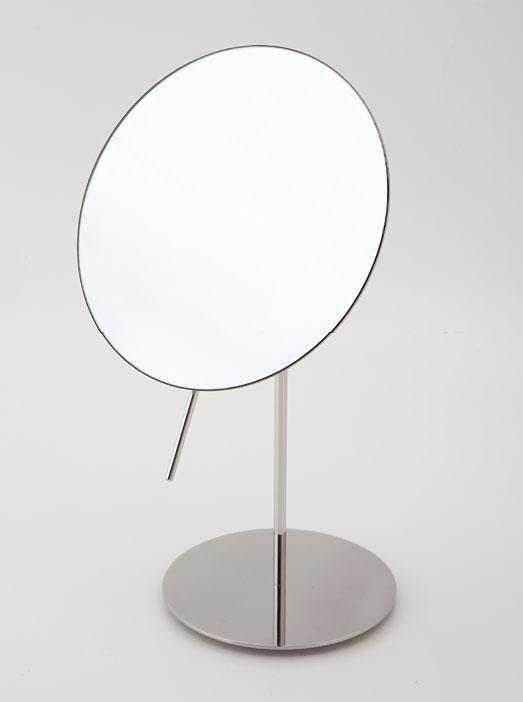 鏡 ミラー 拡大鏡 卓上鏡 卓上 卓上ミラー スタンドミラー ミラースタンド スタンド メーキャップミラー 拡大鏡 化粧 化粧鏡 コスメミラー(拡大鏡・一面鏡):HR-RrH302c7