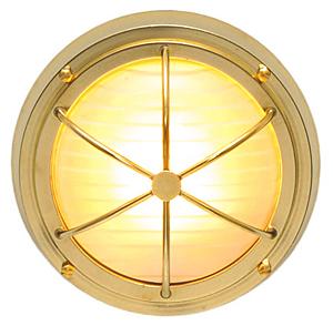 室内照明 天井灯 天井照明 シーリングライト 天井ライト インテリアライト インテリア照明 天井 補助照明 マリンランプ マリンライト 舶用照明 舶用ランプ 船舶ライト レトロ アンティーク 真鍮 舶用 船舶用 おしゃれ 北欧:g-7g0031k9-sl