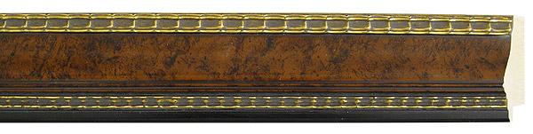 モールディング 木材 額縁 アンティーク フレーム サイズ インテリア額 インテリアモールディング インテリア 額 インテリア フレーム:m18-6523茶/金
