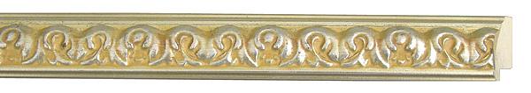 モールディング 木材 額縁 アンティーク フレーム サイズ インテリア額 インテリアモールディング インテリア 額 インテリア フレーム:m18-6564銀