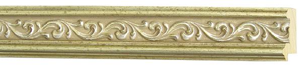 モールディング 木材 額縁 アンティーク フレーム サイズ インテリア額 インテリアモールディング インテリア 額 インテリア フレーム:m26-6705銀