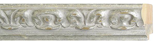 モールディング 木材 額縁 アンティーク フレーム サイズ インテリア額 インテリアモールディング インテリア 額 インテリア フレーム:m46-3010白銀