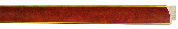 モールディング 木材 額縁 アンティーク フレーム サイズ インテリア額 インテリアモールディング インテリア 額 インテリア フレーム:mA-20118赤