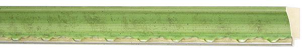 モールディング 木材 額縁 アンティーク フレーム サイズ インテリア額 インテリアモールディング インテリア 額 インテリア フレーム:mB-60001緑/銀