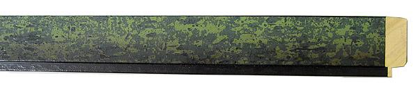 モールディング 木材 額縁 アンティーク フレーム サイズ インテリア額 インテリアモールディング インテリア 額 インテリア フレーム:mC-10077緑