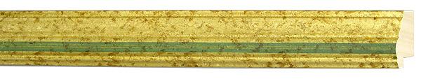モールディング 木材 額縁 アンティーク フレーム サイズ インテリア額 インテリアモールディング インテリア 額 インテリア フレーム:mD-33004金/緑