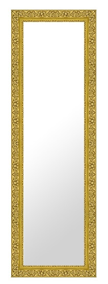 鏡 ミラー 壁掛け鏡 壁掛けミラー ウオールミラー:26-6542-402mmx1302mm(フレームミラー 壁掛け 壁付け 姿見 姿見鏡 壁 おしゃれ エレガント 化粧鏡 アンティーク 玄関 玄関鏡 洗面所 トイレ 寝室 額 フレーム 額縁 )