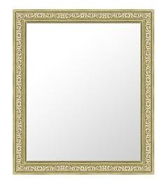 シルバー 銀 銀箔 仕立ての 鏡 ミラー 壁掛け鏡 壁掛けミラー ウオールミラー:26-6705-391mmx493mm(フレームミラー 壁掛け 壁付け 姿見 姿見鏡 壁 おしゃれ エレガント 化粧鏡 アンティーク 玄関 玄関鏡 洗面所 トイレ 寝室 )