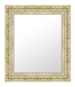 シルバー 銀 銀箔 仕立ての 鏡 ミラー 壁掛け鏡 壁掛けミラー ウオールミラー:44-6718-469mmx571mm(フレームミラー 壁掛け 壁付け 姿見 姿見鏡 壁 おしゃれ エレガント 化粧鏡 アンティーク 玄関 玄関鏡 洗面所 トイレ 寝室 )