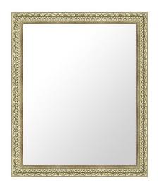 銀箔 仕立て 鏡 壁掛け ミラー 377x479 長方形 国産 壁掛け鏡 壁掛けミラー ウォールミラー 姿見 鏡 全身 吊り下げ レトロ アンティーク おしゃれ 額 フレーム 額縁 角型 四角 四角形 シルバー 銀 銀色