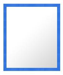 鏡 ミラー 壁掛け鏡 ウォールミラー:01-4009-439mmx540mm