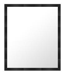 鏡 ミラー 壁掛け鏡 ウォールミラー:B-10007-335mmx437mm
