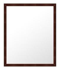 ブラウン 茶色 ダークブラウン の 鏡 ミラー 壁掛け鏡 壁掛けミラー ウオールミラー:B-10008-335mmx437mm(フレームミラー 壁掛け 壁付け 姿見 姿見鏡 壁 おしゃれ エレガント 化粧鏡 アンティーク 玄関 玄関鏡 洗面所 トイレ 寝室 )