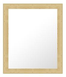 ナチュラル ナチュラル色 の 鏡 ミラー 壁掛け鏡 壁掛けミラー ウオールミラー:D-10019-393mmx495mm(フレームミラー 壁掛け 壁付け 姿見 姿見鏡 壁 おしゃれ エレガント 化粧鏡 アンティーク 玄関 玄関鏡 洗面所 トイレ 寝室 )