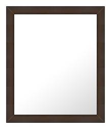 ブラウン 茶色 ダークブラウン の 鏡 ミラー 壁掛け鏡 壁掛けミラー ウオールミラー:12-BF2000-369mmx471mm(フレームミラー 壁掛け 壁付け 姿見 姿見鏡 壁 おしゃれ エレガント 化粧鏡 アンティーク 玄関 玄関鏡 洗面所 トイレ 寝室 )