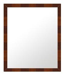 ブラウン 茶色 ダークブラウン の 鏡 ミラー 壁掛け鏡 壁掛けミラー ウオールミラー:B-60003-343mmx445mm(フレームミラー 壁掛け 壁付け 姿見 姿見鏡 壁 おしゃれ エレガント 化粧鏡 アンティーク 玄関 玄関鏡 洗面所 トイレ 寝室 )