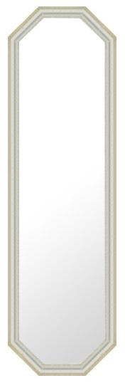 鏡 ミラー 壁掛け鏡 壁掛けミラー ウオールミラー:G-N402S-8-384mmx1284mm(フレームミラー 壁掛け 壁付け 姿見 姿見鏡 壁 おしゃれ エレガント 化粧鏡 アンティーク 玄関 玄関鏡 洗面所 トイレ 寝室 額 フレーム 額縁 )