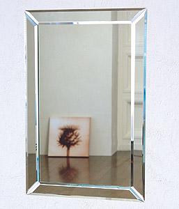 ガラスアート の 鏡 ミラー 壁掛け鏡 壁掛けミラー ウオールミラー:AR-9a839BZrN-U(フレームレスミラー 壁掛け 壁付け 姿見 姿見鏡 壁 おしゃれ エレガント 化粧鏡 玄関 玄関鏡 洗面所 トイレ 寝室 ノンフレーム ノーフレーム)