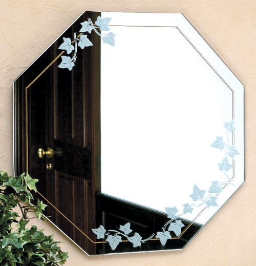 ガラスアート の 鏡 ミラー 壁掛け鏡 壁掛けミラー ウオールミラー:AR-AaD-1r53-Q(フレームレスミラー 壁掛け 壁付け 姿見 姿見鏡 壁 おしゃれ エレガント 化粧鏡 玄関 玄関鏡 洗面所 トイレ 寝室 ノンフレーム ノーフレーム)
