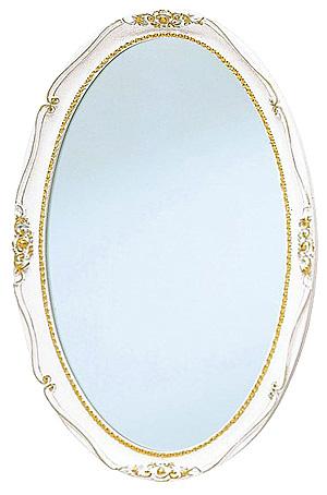 円形 オーバル の 鏡 ミラー 壁掛け鏡 壁掛けミラー ウオールミラー:AaM-4r71-B(フレームミラー 壁掛け 壁付け 姿見 姿見鏡 壁 おしゃれ エレガント 化粧鏡 アンティーク 玄関 玄関鏡 洗面所 トイレ 寝室 )