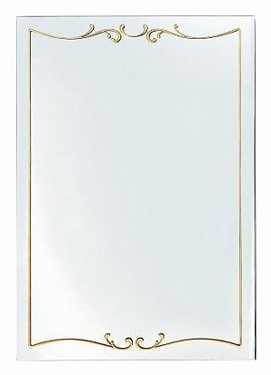 ガラスアート の 鏡 ミラー 壁掛け鏡 壁掛けミラー ウオールミラー:AaD-1r58-Q(フレームレスミラー 壁掛け 壁付け 姿見 姿見鏡 壁 おしゃれ エレガント 化粧鏡 玄関 玄関鏡 洗面所 トイレ 寝室 ノンフレーム ノーフレーム)