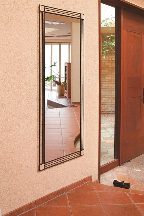 鏡 ミラー 壁掛け鏡 壁掛けミラー ウオールミラー:NaA-2r09(フレームミラー 壁掛け 壁付け 姿見 姿見鏡 壁 おしゃれ エレガント 化粧鏡 アンティーク 玄関 玄関鏡 洗面所 トイレ 寝室 額 フレーム 額縁 )