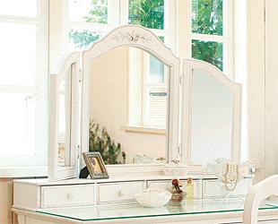 鏡 ミラー 卓上鏡 卓上ミラー スタンドミラー ミラースタンド スタンド メーキャップミラー 化粧鏡 コスメミラー:CaE-0r012(片面鏡)
