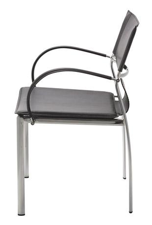 いす イス 椅子 チェア 合皮 合成皮革 クッション スチール製 スチール 脚 おしゃれ デザイン ダイニング オフィス キッチン(ブラック):JaC-3r03