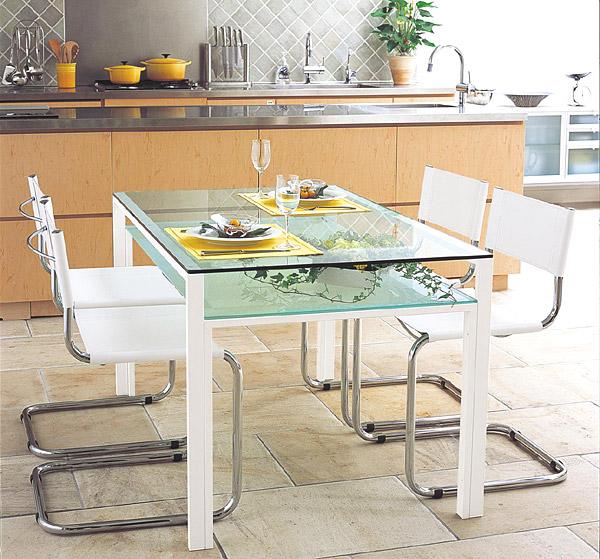 ダイニングテーブル ガラステーブル オフィステーブル ミーティングテーブル 会議テーブル 会議机 オフィステーブル リゾートテーブル ガラス事務机 硝子 ガラス天板 天板ガラス ガラストップ:AR-DT-15,AR-DT-5