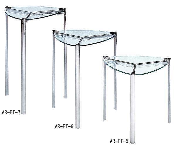 リビングテーブル、リビング テーブル、テーブル リビング、サイドテーブル、ガラステーブル、ガラス テーブル、テーブル ガラス(銀・銀色・シルバー):LVTAR-FT-5