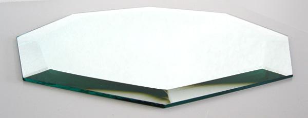 クリスタル ミラー トレイ レギュラーオクタゴン(正八角) LLサイズ