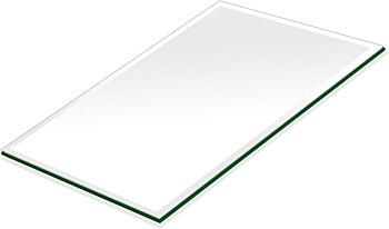ミラー トレイ ミラー トレー 鏡 トレイ 鏡 トレー:クリアミラー(通常の鏡)・トレイ・長方形(130x180mm)(鏡トレイ 鏡トレー ミラートレイ ミラートレー ベーストレイ ディスプレイ トレー トレイ)