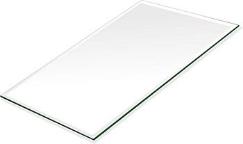 ミラー トレイ ミラー トレー 鏡 トレイ 鏡 トレー:クリアミラー(通常の鏡)・トレイ・長方形(160x240mm)(鏡トレイ 鏡トレー ミラートレイ ミラートレー ベーストレイ ディスプレイ トレー トレイ)