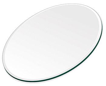 ミラー トレイ ミラー トレー 鏡 トレイ 鏡 トレー:クリアミラー(通常の鏡)・トレイ・楕円形(130x180mm)(鏡トレイ 鏡トレー ミラートレイ ミラートレー ベーストレイ ディスプレイ トレー トレイ)