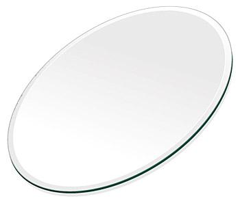 ミラー トレイ ミラー トレー 鏡 トレイ 鏡 トレー:クリアミラー(通常の鏡)・トレイ・楕円形(300x450mm)(鏡トレイ 鏡トレー ミラートレイ ミラートレー ベーストレイ ディスプレイ トレー トレイ)