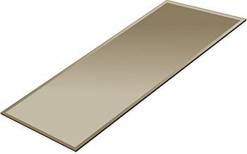 ミラー トレイ ミラー トレー 鏡 トレイ 鏡 トレー:ブロンズミラー(ブロンズ色の鏡)・トレイ・長方形(140x300mm)(鏡トレイ 鏡トレー ミラートレイ ミラートレー ベーストレイ ディスプレイ トレー トレイ)