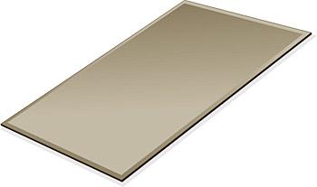ミラー トレイ ミラー トレー 鏡 トレイ 鏡 トレー:ブロンズミラー(ブロンズ色の鏡)・トレイ・長方形(160x240mm)(鏡トレイ 鏡トレー ミラートレイ ミラートレー ベーストレイ ディスプレイ トレー トレイ)