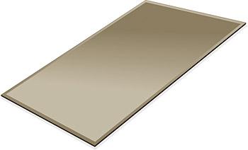 ミラー トレイ ミラー トレー 鏡 トレイ 鏡 トレー:ブロンズミラー(ブロンズ色の鏡)・トレイ・長方形(233x350mm)(鏡トレイ 鏡トレー ミラートレイ ミラートレー ベーストレイ ディスプレイ トレー トレイ)