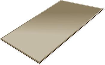 ミラー トレイ ミラー トレー 鏡 トレイ 鏡 トレー:ブロンズミラー(ブロンズ色の鏡) トレイ 長方形(300x450mm)(鏡トレイ 鏡トレー ミラートレイ ミラートレー ベーストレイ ディスプレイ トレー トレイ)