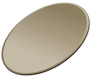 ミラー トレイ ミラー トレー 鏡 トレイ 鏡 トレー:ブロンズミラー(ブロンズ色の鏡)・トレイ・楕円形(160x240mm)(鏡トレイ 鏡トレー ミラートレイ ミラートレー ベーストレイ ディスプレイ トレー トレイ)