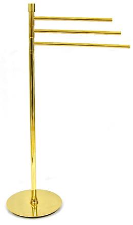 タオル スタンド 幅43×高さ94cm 真鍮 ゴールド 金 24Kメッキ 金 スタンド タオルかけ スタンド タオル掛け タオルハンガー アイアン タオルかけ タオル干し バスタオルスタンド バスタオル掛け バスタオルかけ バスタオル干し 洗面所