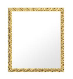 鏡 ミラー 壁掛け鏡 ウォールミラー:bol6g-w455mmxh618mmxd24mm-se