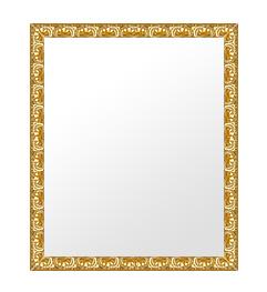 ゴールド 金 金箔 仕立ての 鏡 ミラー 壁掛け鏡 壁掛けミラー ウオールミラー:is2799g-w351mmxh453mmxd30mm-se(フレームミラー 壁掛け 壁付け 姿見 姿見鏡 壁 おしゃれ エレガント 化粧鏡 アンティーク 玄関 玄関鏡 洗面所 トイレ 寝室 )